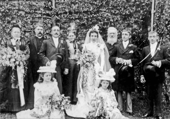 Marriage of Albert Broad and Rye (Maria) Mate Tilston 1899